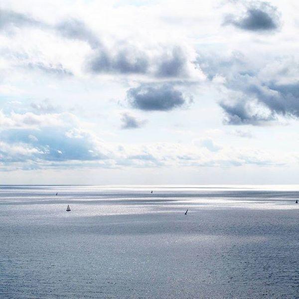 Laspezia Italy Mare Ocean Boats Horizon Travel Traveler Traveling