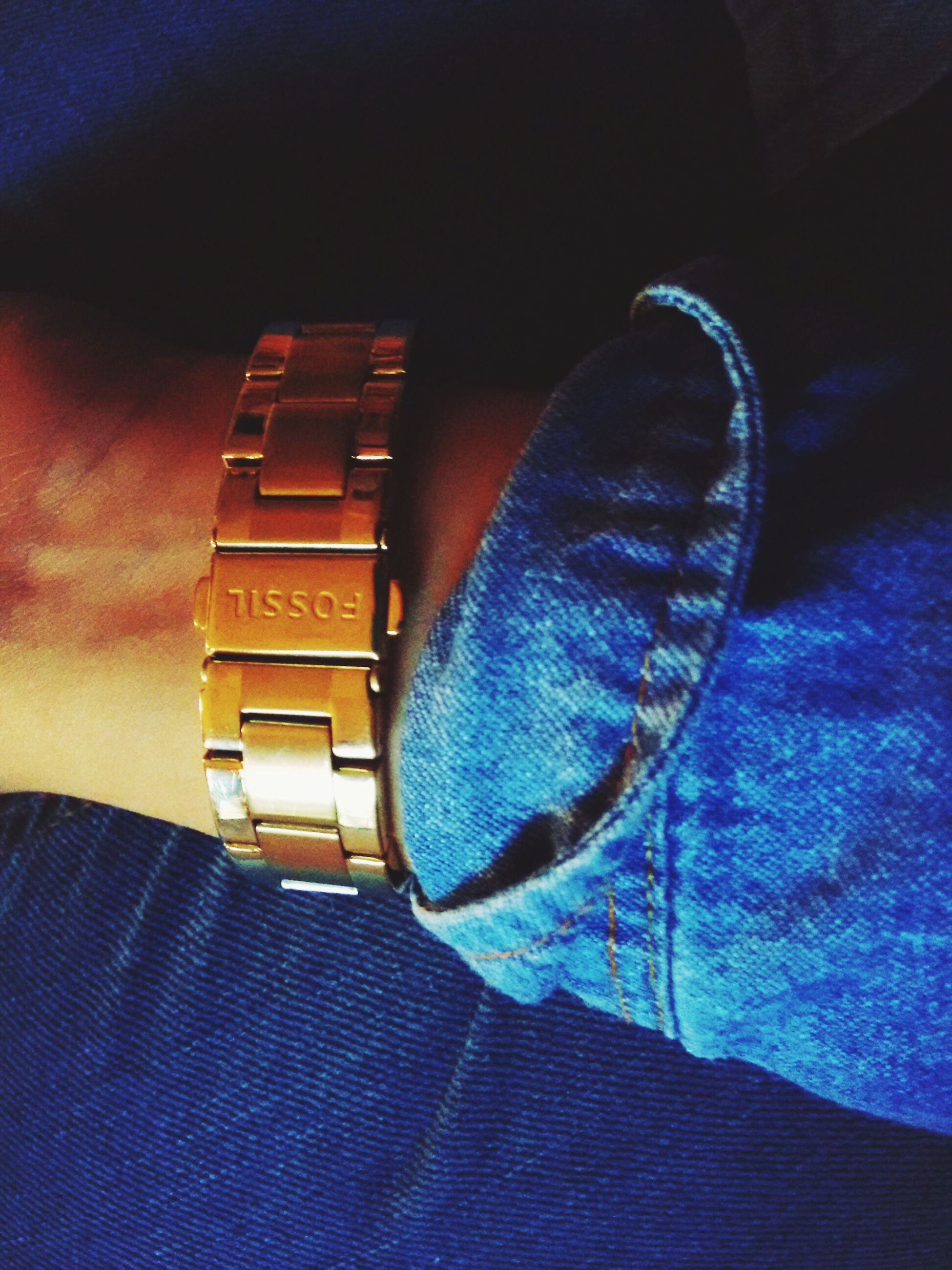blue, close-up, indoors, part of, unrecognizable person, leisure activity, lifestyles, men, jeans, single object, casual clothing, purple, focus on foreground, black color, high angle view, personal perspective, low section