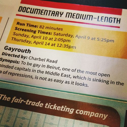 I've been waiting to watch this! Gayrouth PhoenixFilmFestival PFF2016