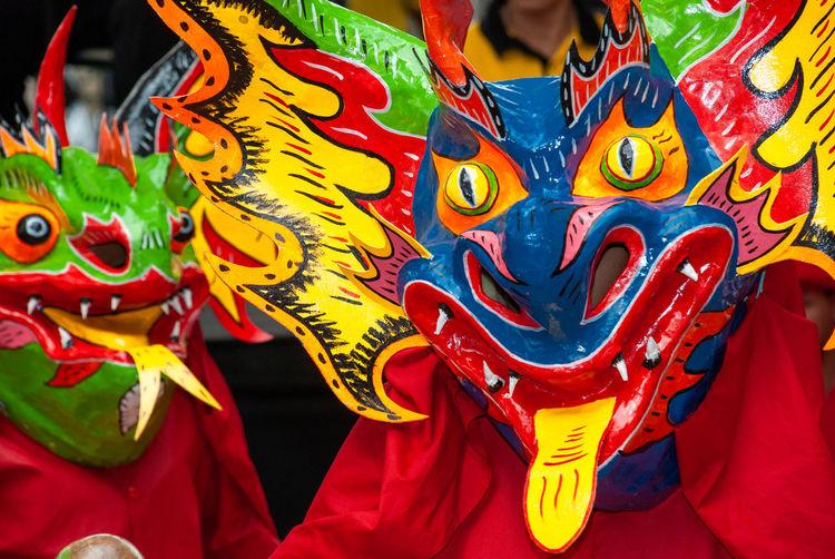Dancing devils of corpus christy, popolar culture and venezuelan floklore