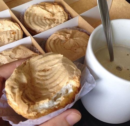 Best buko tart I've eaten so far.😍 Food Foodporn Best  Bukotart Dessert Lutongpinoy