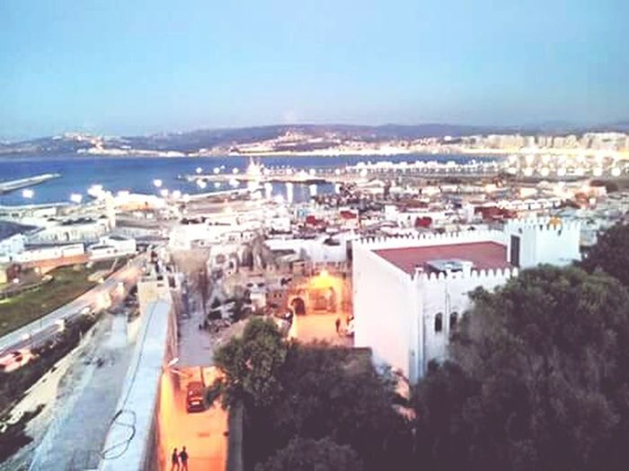 Tanger morocco City Night Aerial View High Angle View First Eyeem Photo