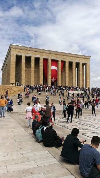 Anitkabir Museum Anitkabir Ankara EyeEm Best Shots Anıtkabir Cityscape Turkish Flag No Edit/no Filter No Filter, No Edit, Just Photography No Filter Architecture Architectural Column Outdoors