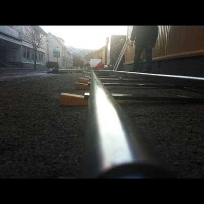 Just layin' some pipe Setlife WreckinRjukan Dolly Dollytrack notafisher magnumdolly Rjukan Norway norwayproblems filminnorway