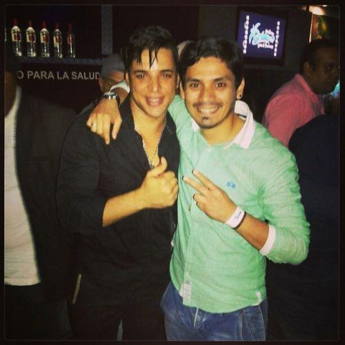 Con mi amigo baby Junior!! Charanga Habanera Cuba Per ú