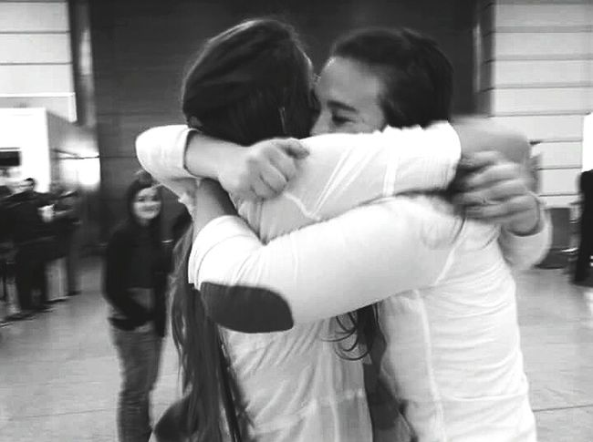 You are the sister I chose with my heart The Human Condition Friendship Good Bye Black & White B&w Hugs Popular Photos