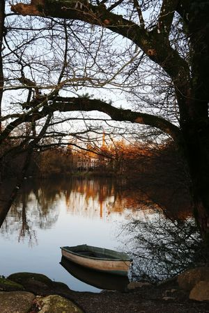 barque & sunset Clisson Wintertime Barque Sunset Relaxing Hanging Out Nature_collection