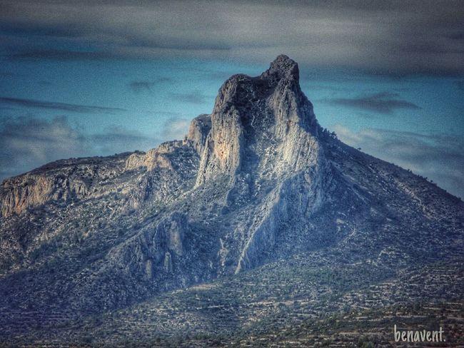 Benicadell País De L'olivera Muntanya Montañas❤