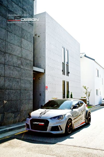 나만의 차를 완성하는 곳_로드파워디자인 LORDPOWER DESIGN Veloster Hyundai Veloster Turbo Tuned Veloster Kdm Full Body Kit Aeroparts