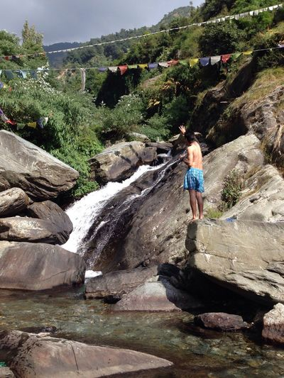 Budha BhagsuFalls waterfall Enjoying Life That's Me