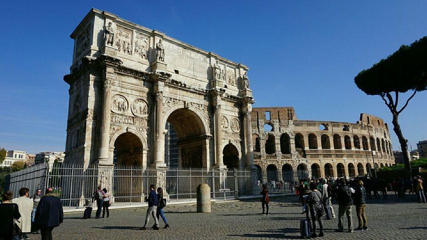 The Colosseum, Rome Colosseum Rome Italy EyeEm Italy Eurotrip Landmarks RomanColosseum