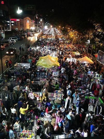Sunday Night Market. Baguio City Nightmarket Nightlights Burnhampark First Eyeem Photo