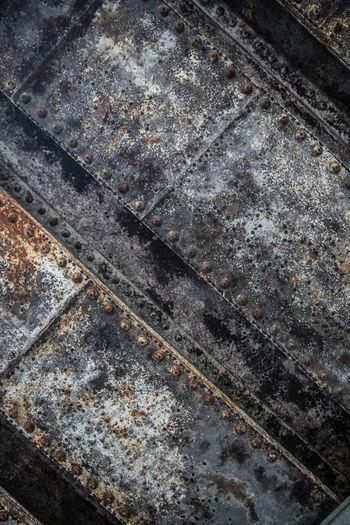 Full frame shot of old tiled floor