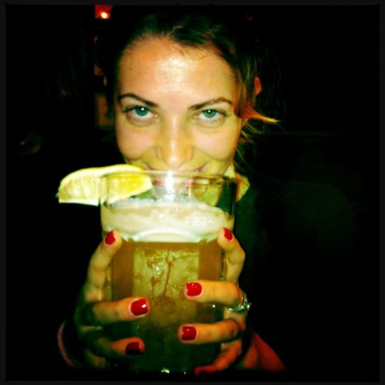 """Cheers!"""