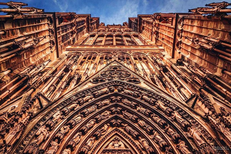 •nothing is high, everything is achievable• ©M I K E J O N A S Mikejonasphotography Mikejonas Cathedral Cathédrale De Strasbourg Strasbourg Religious Architecture Architecture Architectural Detail Hello World Catholic Church