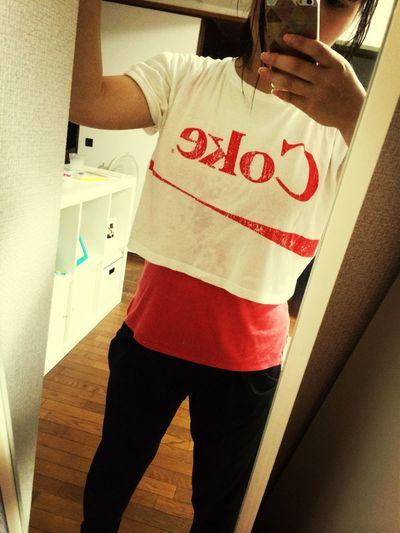 Coke Tshirt After Dance