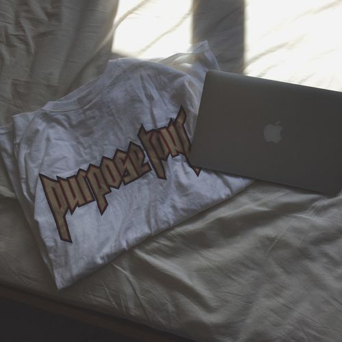 Purpose Tour Apple Fashoin Tee Shirt Clothing Line