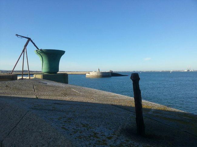 a Crisp day, Winter Sun , Calm Sea Lighthouse