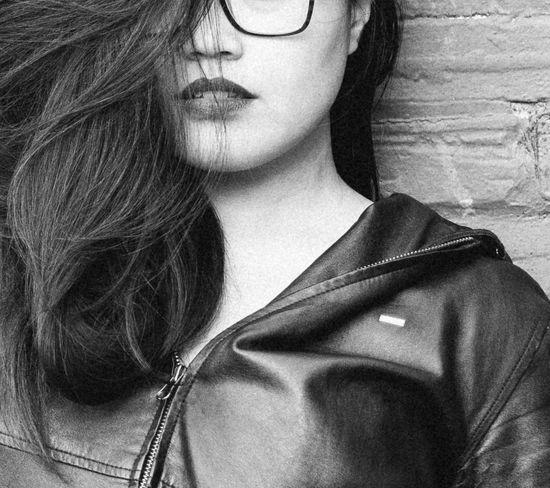 An old, worn jacket almost always looks better than the newer thing. Model - Shama Palangdosan Taking Photos TheWeekOnEyeEM Calgary, Alberta Fashion Style YYC Ootd Monoart Olympus Olympus Om-d E-m10 Olympusomd Obey Propaganda Lips Portrait Of A Woman Woman Women Of EyeEm Portrait