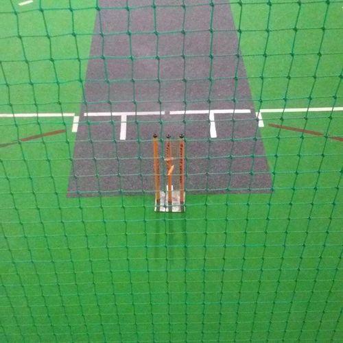 From the umpiring stand? Umpiring Pitch Indoor Cricket indoorcricket actioncricket mkondeni pietermaritzburg kzn cricketlife green grey wickets