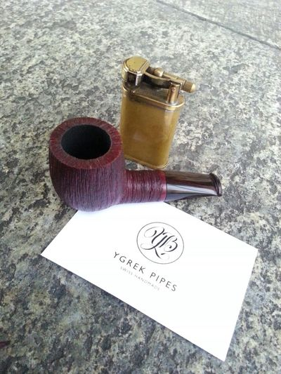 The 305 Stubby Tobacco Pipe made by Ygrek Pipes Switzerland Pipesmoking