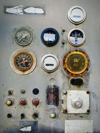 Old Dashboard Corrosion Vintage Meter Meters Metal EyeEm Best Shots Close Up Technology