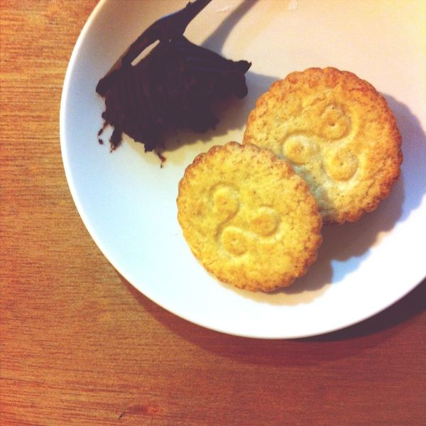 Afternoon Take A Break Chocolate and Butter Cookies ❤️