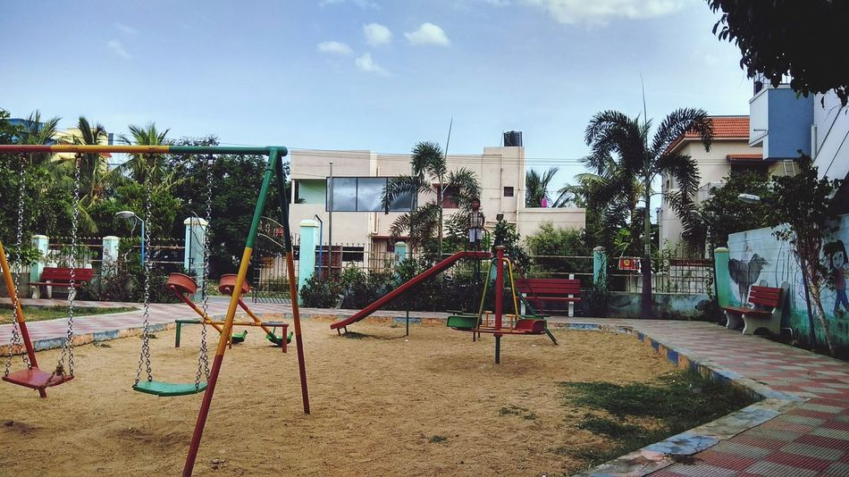 Playground Outdoor Play Equipment No People Day Outdoors Childhood Architecture EyeEmNewHere EyeEm Ready