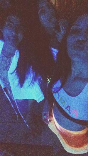 Girls Friends Party Neon Lights