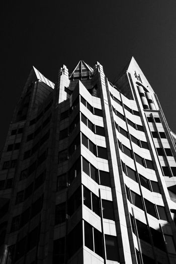 1 Minster Court feels like it's straight out of Batman. Architecture Black And White Design Exterior Gothic London Office Building Structure Urban Window The Architect - 2016 EyeEm Awards Eyeemphoto Monochrome Photography London Lifestyle Welcome To Black Postcode Postcards