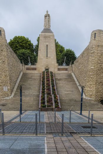 Art And Craft Patriotism Stairs Statue Architecture Built Structure Day Human Representation Memorialday Monument No People Outdoors Spirituality Travel Destinations World War 1 Memorial