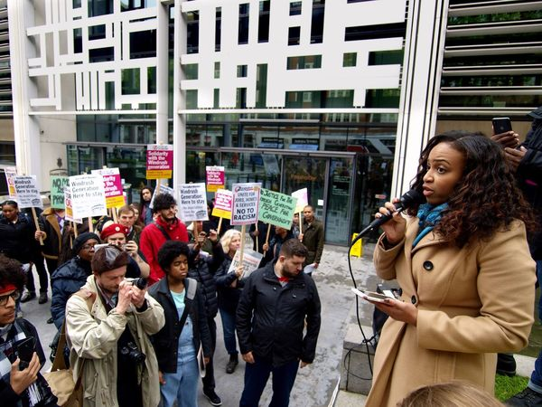 Windrush Scandal! Protest. Parliament and Home Office. London. 28/04/2018 Stevesevilempire Steve Merrick London News Olympus Zuiko Hostile Environment Immigration Protest Windrush Scandal Windrush Protest City Group Of People Women Architecture Real People Crowd Adult