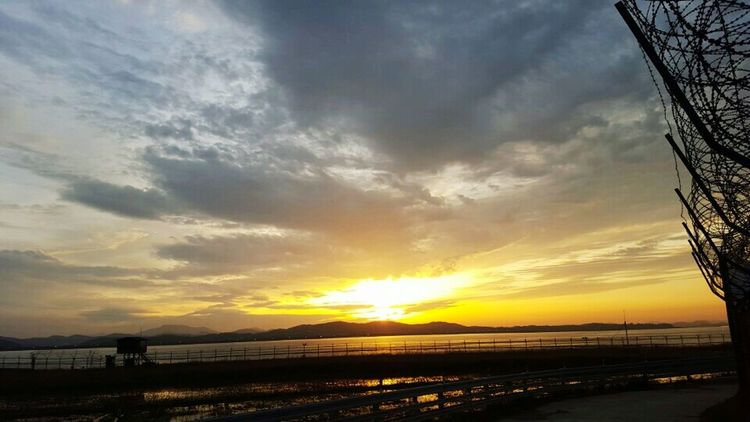 노을 풍경 배경 Sun Sunset Sunrise Sunshine First Eyeem Photo
