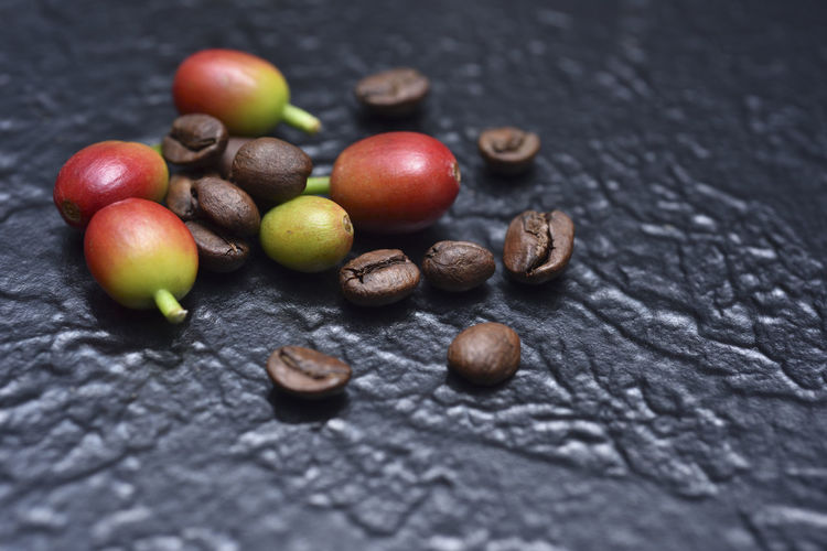 Carefully selected fine coffee beans Beans Coffee Coffee Fruit Bake Close-up Coffee Beans Day Delicious Featured Food Food And Drink Fragrant Freshness Fruit Healthy Eating Indoors  No People Nut - Food Selective Focus Table Taste