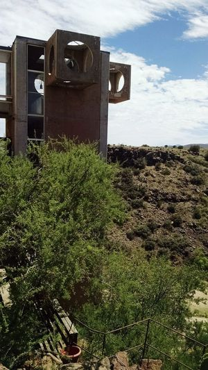 Out Of The Earth Arcosanti Arizona Lost In The Landscape