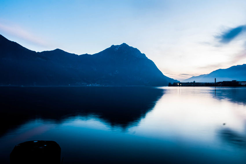 Beauty In Nature Day Iseo Lake Lake Langbart Lovere Lovere Lake Mountain Mountain Range Nature No People Outdoors Reflection Scenics Sky Sunset Tranquil Scene Tranquility Water Waterfront Food Stories Shades Of Winter