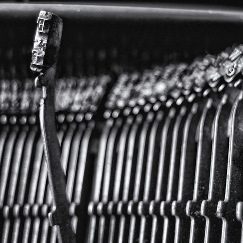 Olivetti Lettera 35 typewriter Altro, Oltre Close-up Eye4black&white  Monochrome Photography EyeEm EyeEm Best Shots - Black + White EyeEm Gallery EyeEmBestPics Eyeemphotography Focus On Foreground Hammer Iron Letters Man Made Object Metallic Mllml Object Olivetti Picoftheday Playing With Thoughts Selective Focus Still Life Tadaa Community Typewriter Showcase June