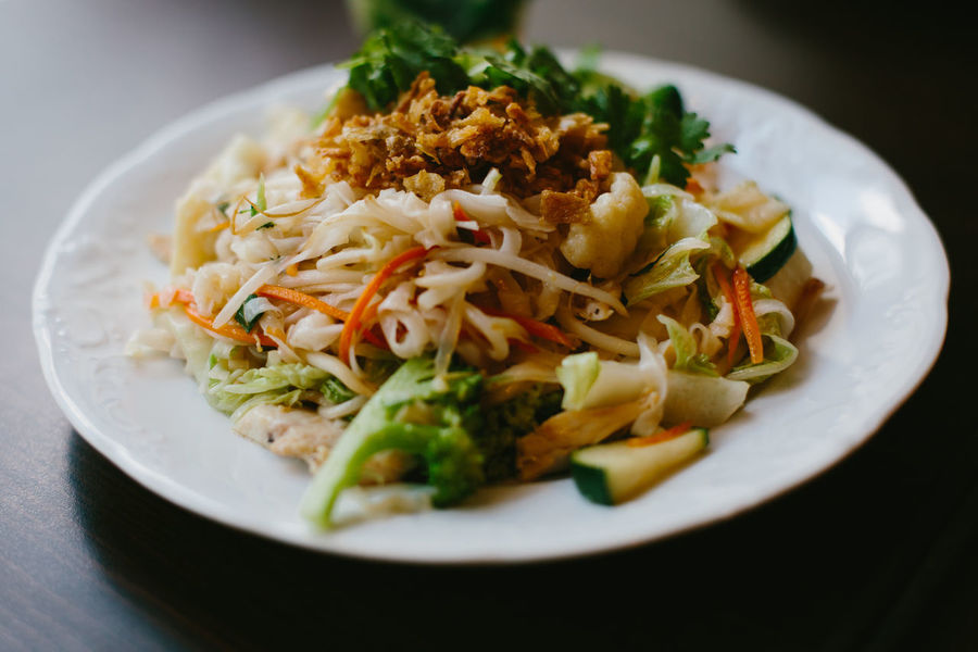 Vietnamese dish Asian Culture Fried Noodles Fried Chicken Hanging Out Vietnamese Vietnamese Food Asian Food Close-up Day Food Food And Drink Freshness Fried Rice Health Healthy Healthy Eating Healthy Food Indoors  No People Plate Ready-to-eat Restaurant Serving Size