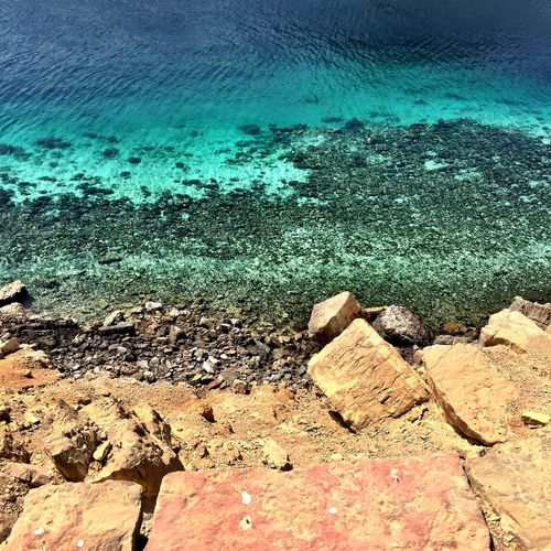 Crystal Clear Waters Oman IPhoneography Check This Out Wild Places Taking Pictures Oman_photography Musandam Musandam Oman Clear Water Dry Land