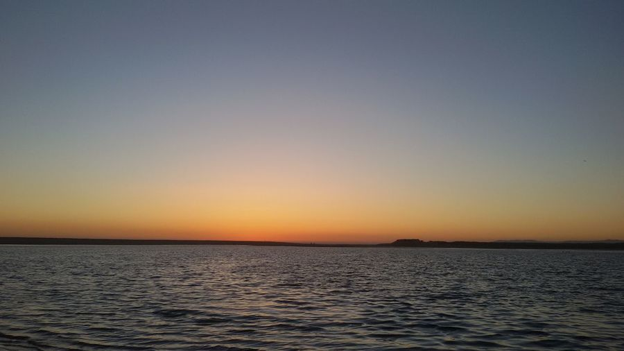 Breathing Space Sea Scenics Tranquility Beauty In Nature Water Outdoors Sunset Nature No People Rippled Travel Destinations Beach Horizon Over Water Sky Clear Sky Vacations Day Portugal South Lagoa Estremadura