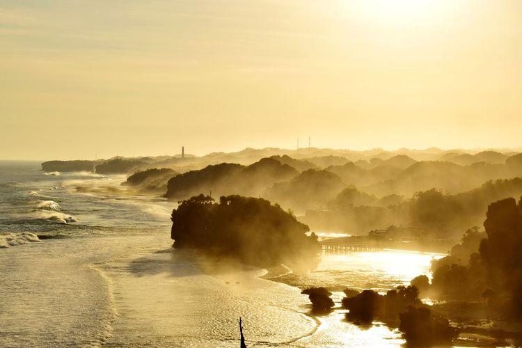 Water Fog Dawn