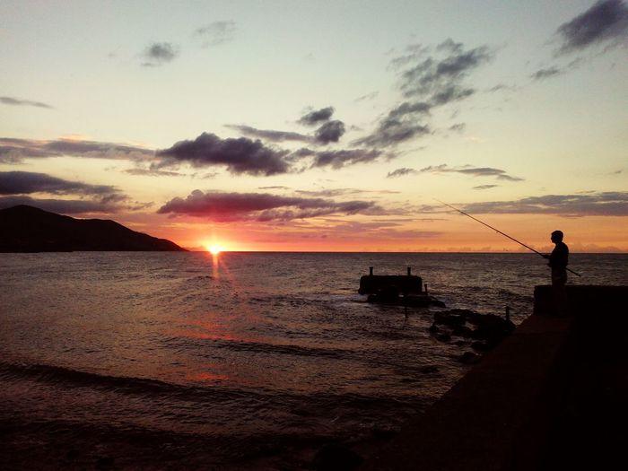 Sunset Beach Nature Algeria