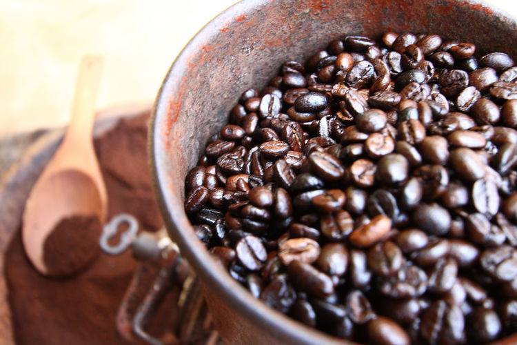 Close up coffee