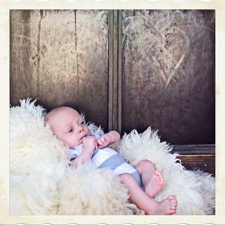 Gotta love babies!!!!! Happy little guy! Kidsphotographyphoenix Babyphotographer Newbornphotographer Bigbrother