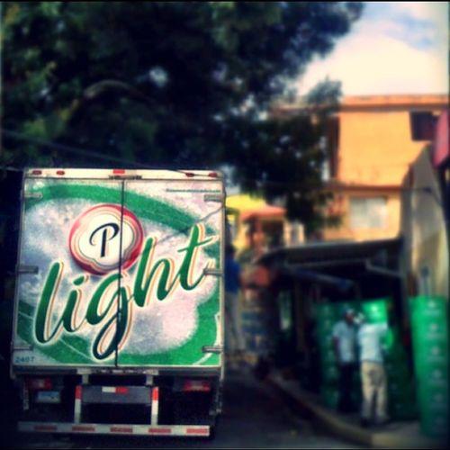 BeerTruck Presidente Dominican Beer streetphoto lifetiltshif photooftheday arriving home from work i find this truck load it of beer instagramersrd igers @igersrd
