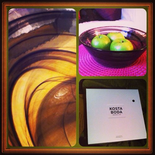 Check This Out My new fruite bowl from Kosta Boda Swedish Interior Designe Homedesign i love it! :)