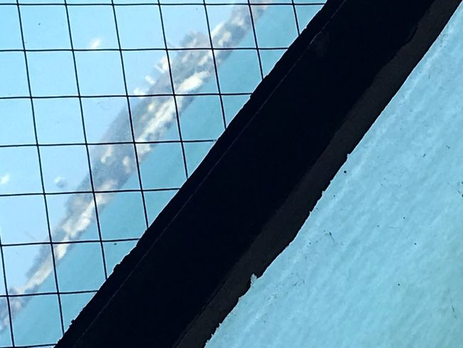 Architecture Built Structure Low Angle View Day No People Sky Modern Building Exterior Outdoors City Close-up Urban Geometry Textures And Surfaces Industrial Metal Ocean View Ocean Sea And Sky Sea
