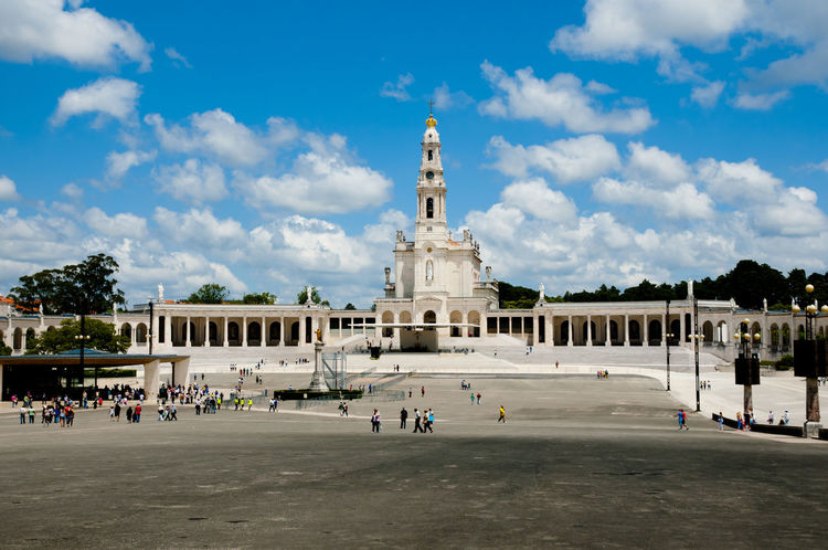 Sanctuary of Our Lady of Fatima Fátima Our Lady Of Fatima Portugal City Sanctuary