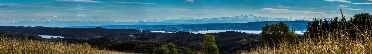 Cloud Alps Beauty Blue Bodensee Landscape Mountains Panoramic Photography Sea