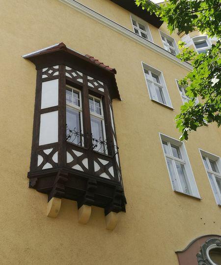 House Facade Berlin Tempelhof Old Buildings Oriel Half Timbered Windows Embrace Urban Life The Architect - 2017 EyeEm Awards